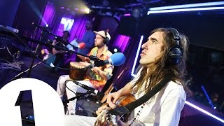 Crystal Fighters Cold Water (Major Lazer Cover) in the Live Lounge