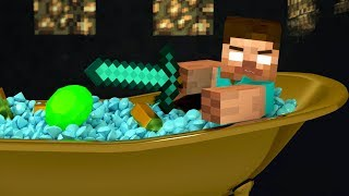 HEROBRINE The beginning ❑ Look What You Made Me Do ❑ Minecraft Animation