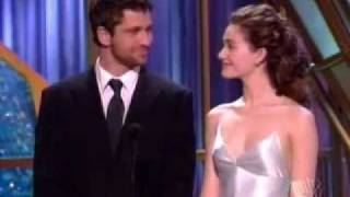 Emmy Rossum & Gerard Butler at Critics Choice Award  2005