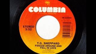 T.G. Sheppard - Fooled Around And Fell In Love