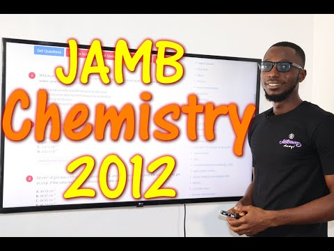 JAMB CBT Chemistry 2012 Past Questions 1 - 15
