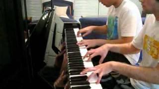 Bad Romance - Piano 4 Hands