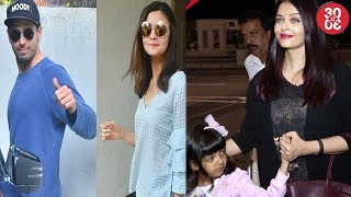 No Trouble In Alia Bhatt-Sidharth Malhotra's Paradise | Aishwarya Heads For A Vacation With Aaradhya