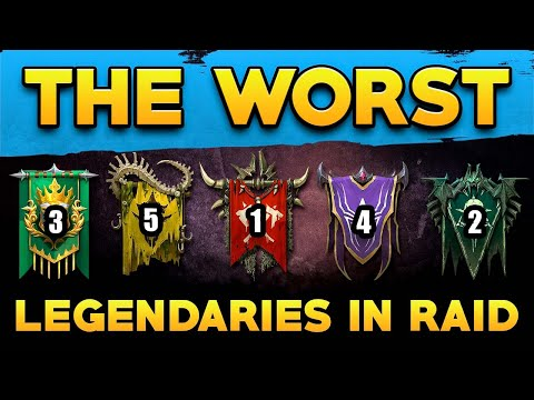 Legendaries you HATE to Pull I Raid Shadow Legends