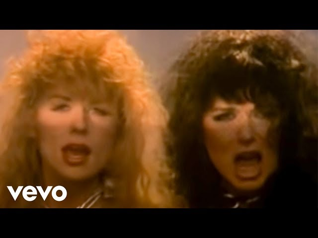 "Vídeo de ""Alone"" de Heart."