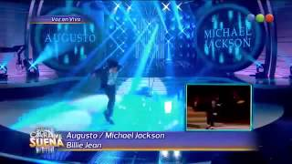 Excellent imitation of Michael Jackson - Billie jean (Your face sounds Argentina)