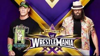 WWE WrestleMania 30/XXX Special #2-Bray Wyatt vs. John Cena (Must-See!)