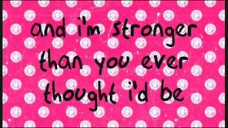 Lemonade Mouth (Naomi Scott)-She's So Gone Lyrics