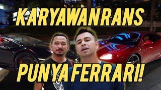 SURPRISE SEDERHANA RAFFI UNTUK GIGI BARENG KARYAWAN YANG PUNYA FERRARI!!!
