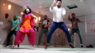 Kaali Camaro | Amrit Maan | Bhangra | THE DANCE MAFIA