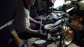 Start Up - Rehearsale Nov 20 2012- Manu DRUET at Drums- Blue Hotel / Chris Isaak-0178 -