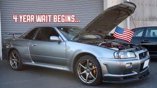 Buying a Nissan R34 GTR in Japan! width=