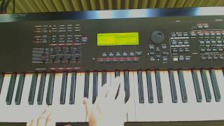 Twin Peaks Laura Palmers Theme on Synthesizer