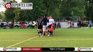 Tigers vs. Cougar Women Premier Academy Soccer League