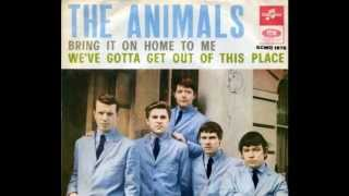 Animals - We Gotta Get Out Of This Place  (Rare 'Mono-to-Stereo' Mix - 1965)