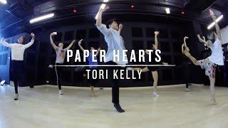 Paper Hearts (Tori Kelly) | Wenjun Choreography