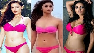 Hottest Bollywood Actresses - Who Dared To Wear A Bikini width=