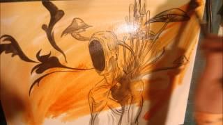 Sunflower Dead- Halo- Rock Metal Draws