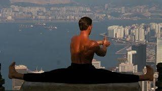 Kickboxer and Bloodsport training
