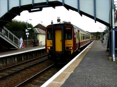 SPT 156495 departs Annan with two-tone (26/09/2009)