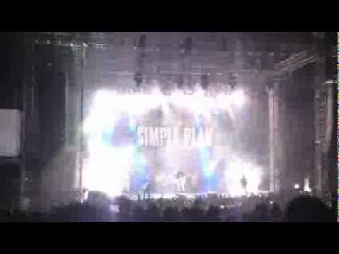Simple Plan Concert Setup Quito Ecuador 2012