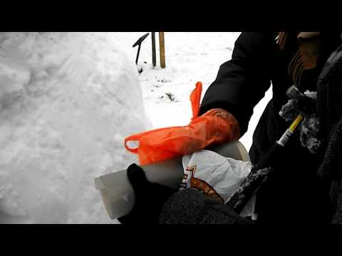 how we built an igloo – part II. Glasgow 2010