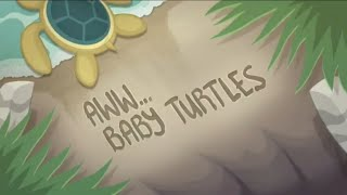 Equestria Girls Beach Short (Aww Baby Turtles) Part 1