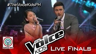 """The Voice Kids Philippines 2015 Live Finals Performance: """"Count On Me"""" by Esang & Billy Crawford"""