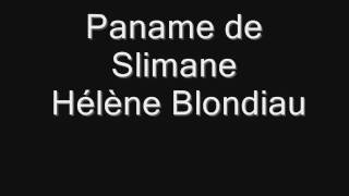 Paname- slimane (cover Hélène blondiau)