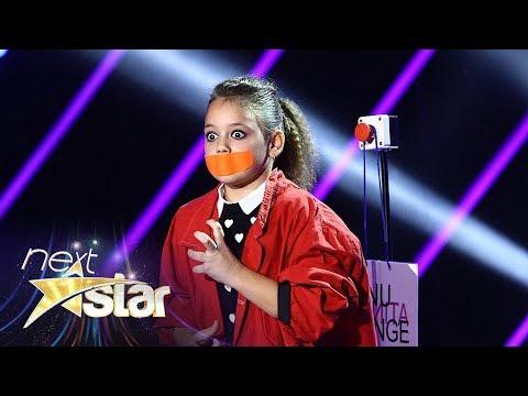Catrinel Voinea, piesă de teatru mut pe scena Next Star!