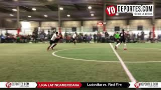 Ludoviko y su Banda vs Red Fire Juego de Ida Champions Liga Latinoamericana