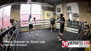 Pierce Groover vs Kevin Lee Body ShotBoxing Club Fight Night Fundraiser