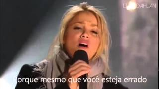 Shakira - I'll stand by you - Tradução