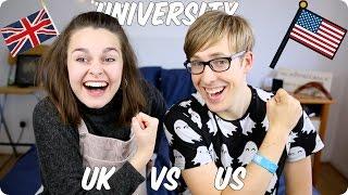 University! British VS American   Evan Edinger & Meowitslucy
