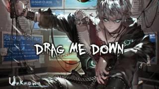 Drag Me Down (Rock Cover) Nightcore