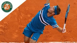 Corentin Moutet vs Ivo Karlovic - Round 1 Highlights | Roland-Garros 2018