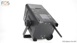 FOS Battery Par WiFi (Discontinued)