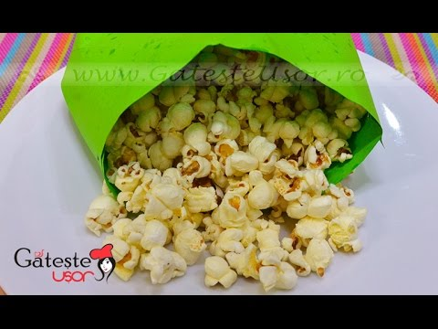 Cum sa faci Popcorn la tuci