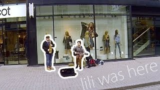 Lily was here - Candy Dulfer (Saxophone cover) Street performance - busking