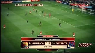 Benfica - Gil Vicente (Golos)