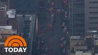 Explosion Takes Place Near New York City Port Authority | TODAY