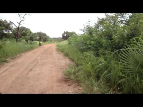 Road from Juba to Yei in South Sudan Africa 1