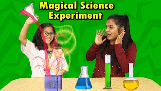 Pari's Fun Magical Science Experiments |  Simple Science Experiments For Kids