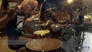 雙星陰陽師 Twin Star Exorcists OP4 - カナデアイ(Drum Cover)