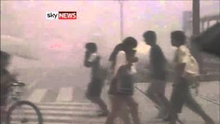Kagoshima, Japan: Volcano Eruption Covers City In Ash