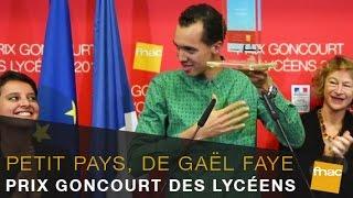 Goncourt des Lycéens 2016 remis à Gaël Faye pour Petit Pays