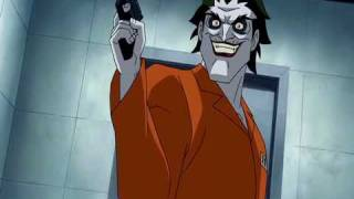Batman: Under the Red Hood - Joker/Black Mask scene