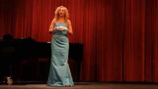 """Signore ascolta"" by Giacomo Puccini, performed live by Melody Myers"