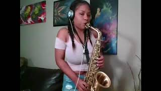 Focus by H.E.R on saxophone
