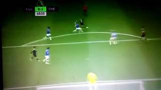 Pedro goal vs Everton •2017